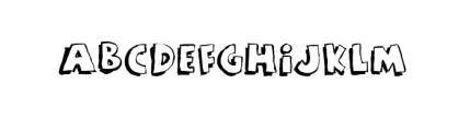 Rant (plain) Font UPPERCASE