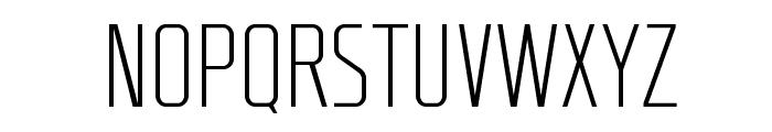 RBNo2-Light-Alternative Font UPPERCASE