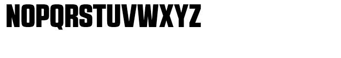 RBNo21 a Black Demo Font UPPERCASE