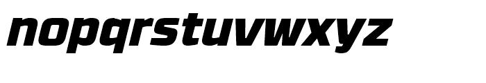 RBNo31 Black Italic Font LOWERCASE