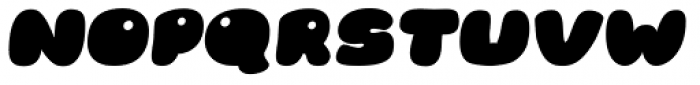 RB Bubble Flight Italic Font UPPERCASE