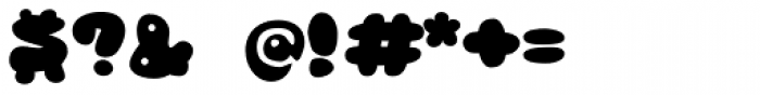 RB Bubble Flight Font OTHER CHARS