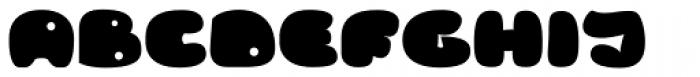 RB Bubble Flight Font UPPERCASE