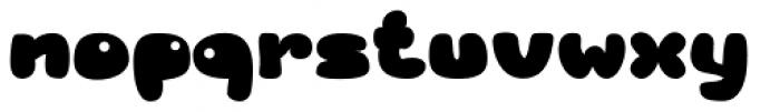 RB Bubble Flight Font LOWERCASE