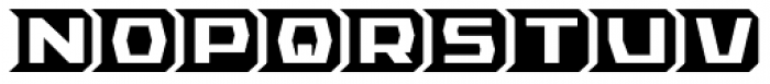 RB Teknon Alt Font UPPERCASE
