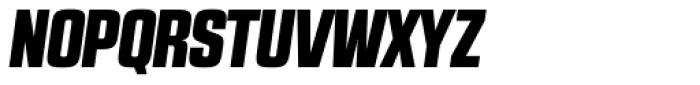 RBNo2.1 a Black Italic DEMO Font UPPERCASE