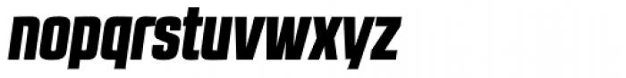 RBNo2.1 a Black Italic DEMO Font LOWERCASE