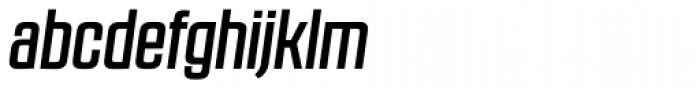 RBNo2.1 a Medium Italic Font LOWERCASE