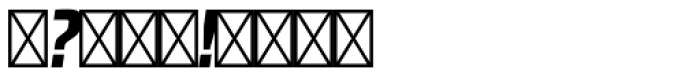 RBNo2.1 b Black Italic DEMO Font OTHER CHARS