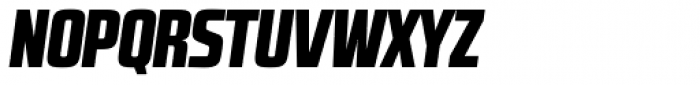 RBNo2.1 b Black Italic DEMO Font UPPERCASE