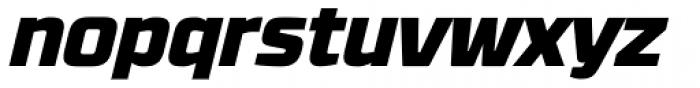 RBNo3.1 Black Italic Font LOWERCASE