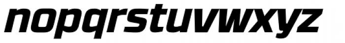 RBNo3.1 ExtraBold Italic Font LOWERCASE