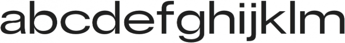 RE-Caravelle Bold Extended otf (700) Font LOWERCASE