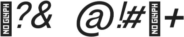 RE-Caravelle Bold Oblique otf (700) Font OTHER CHARS