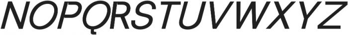 RE-Caravelle Bold Oblique otf (700) Font UPPERCASE