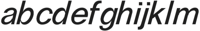 RE-Caravelle Bold Oblique otf (700) Font LOWERCASE