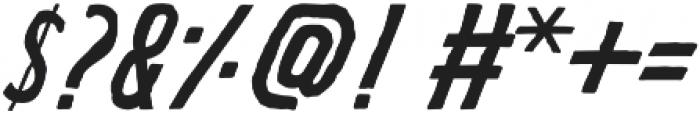 REVEREND ITALIC Regular otf (400) Font OTHER CHARS
