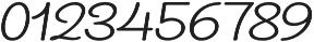 ReadHead Slant Regular otf (400) Font OTHER CHARS