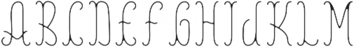 Reading InlineFX otf (400) Font UPPERCASE