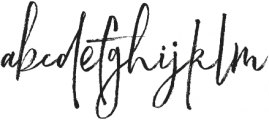 Readmitted Font Reguler otf (400) Font LOWERCASE