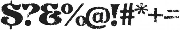 Reagan Regular otf (400) Font OTHER CHARS