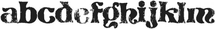 Reagan Regular otf (400) Font LOWERCASE