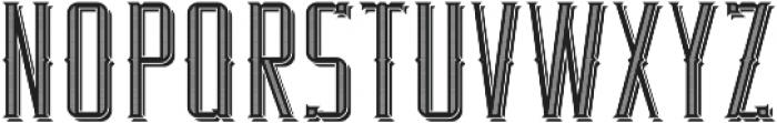 RealEstate TextureAndShadow otf (400) Font UPPERCASE