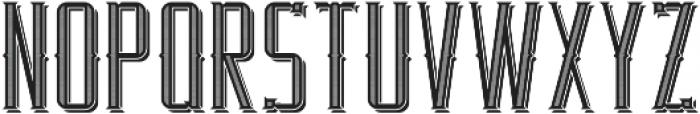RealEstate TextureAndShadow otf (400) Font LOWERCASE
