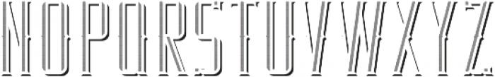 RealEstate TextureAndShadowFX otf (400) Font UPPERCASE