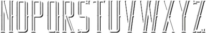 RealEstate TextureAndShadowFX otf (400) Font LOWERCASE