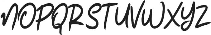 Realism ttf (400) Font UPPERCASE