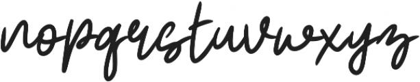 Realism ttf (400) Font LOWERCASE