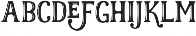 Realist Regular otf (400) Font UPPERCASE