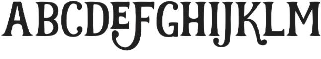 Realist Regular otf (400) Font LOWERCASE