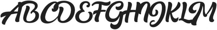Realistica otf (400) Font UPPERCASE
