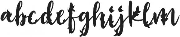 Realita Shadow ttf (400) Font LOWERCASE