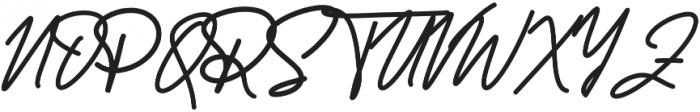 Reallishmy otf (400) Font UPPERCASE