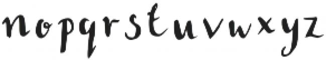 Rebecca otf (400) Font LOWERCASE