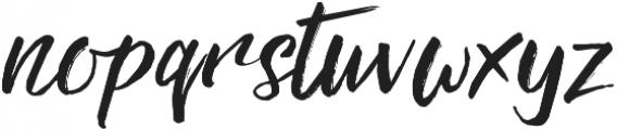 Rebel otf (400) Font LOWERCASE