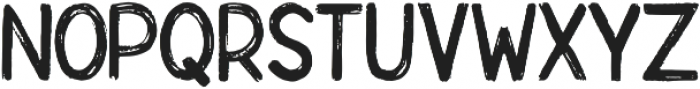 Rebrush ttf (400) Font UPPERCASE