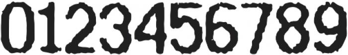 Receipt Regular otf (400) Font OTHER CHARS