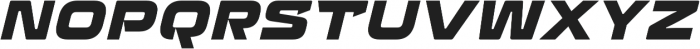 Recharge Heavy Italic otf (800) Font UPPERCASE
