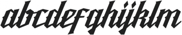 Reckless otf (400) Font LOWERCASE