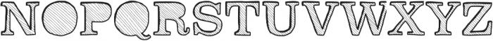 Reckoning ttf (400) Font UPPERCASE