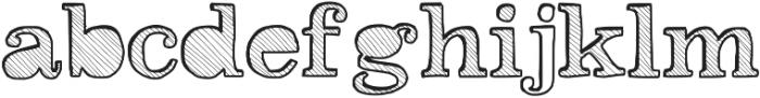 Reckoning ttf (400) Font LOWERCASE