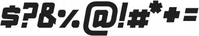 Red Benny UltraBold ttf (700) Font OTHER CHARS