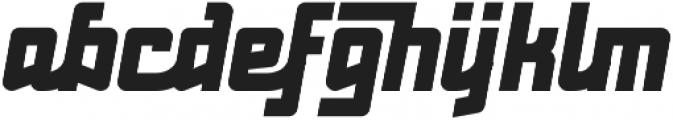 Red Benny UltraBold ttf (700) Font LOWERCASE