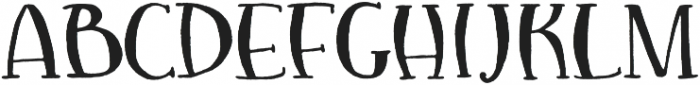 Red Noses otf (400) Font LOWERCASE