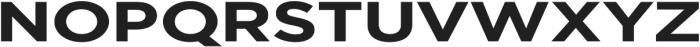 Redbird Sans Bold otf (700) Font UPPERCASE