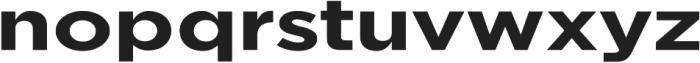Redbird Sans Bold otf (700) Font LOWERCASE